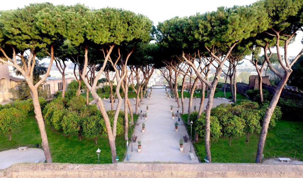 Roma il restyling del giardino degli aranci il nuovo splendore 1 di 1 roma - Giardino degli aranci frattamaggiore ...
