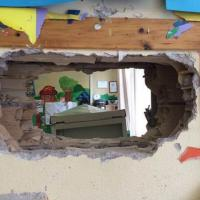 Roma, vandalizzata la scuola Filzi al Tiburtino III