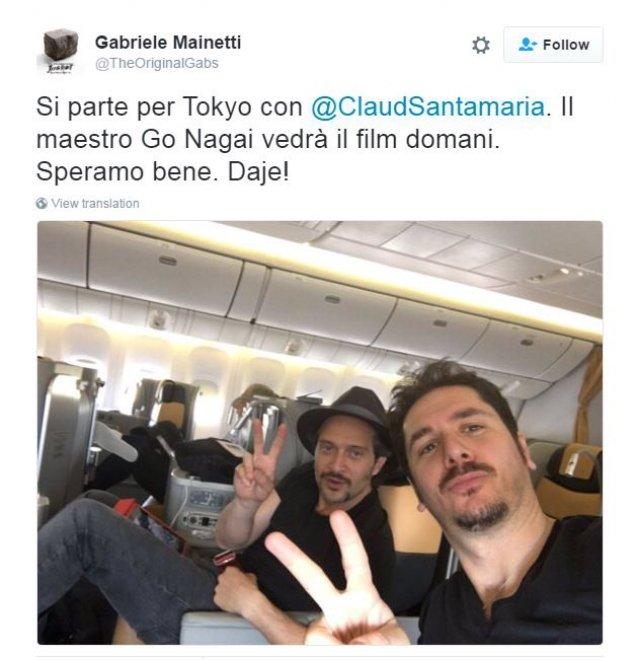 Roma, il cast di Jeeg Robot in viaggio verso il Tokyo Film Festival