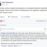 Roma, la gaffe social della Raggi: confonde il fake