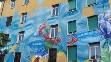 Fiori e farfalle sui muri la street art fa primavera