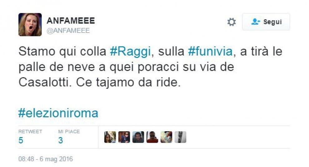 La Raggi propone di costruire una funivia a Roma. E su Twitter esplode l'ironia