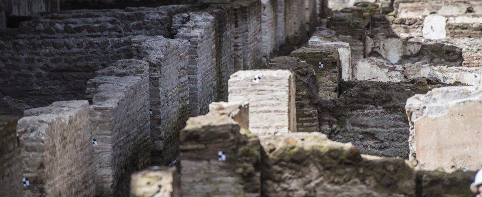 """Roma, caserma romana nel cantiere della metro C. Prosperetti: """"Nessun ritardo nei lavori"""""""
