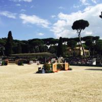 Piazza di Siena, show e glamour per il concorso ippico