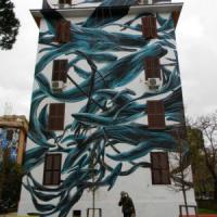 Roma, i murales sulle case popolari di Tor Marancia vanno alla Biennale