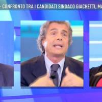 Comunali, scintille al confronto in tv tra Giachetti, Meloni e Marchini