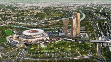 Roma, consegnato in Regione   foto   il progetto per lo stadio a Tor di Valle