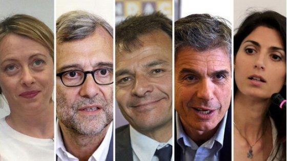 Roma, su Sky il primo confronto tra i candidati sindaco