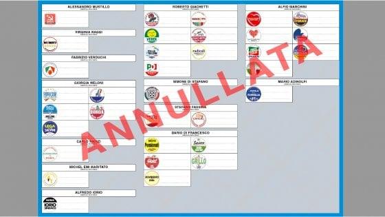 Comunali a Roma, tutti i candidati e le liste a sostegno