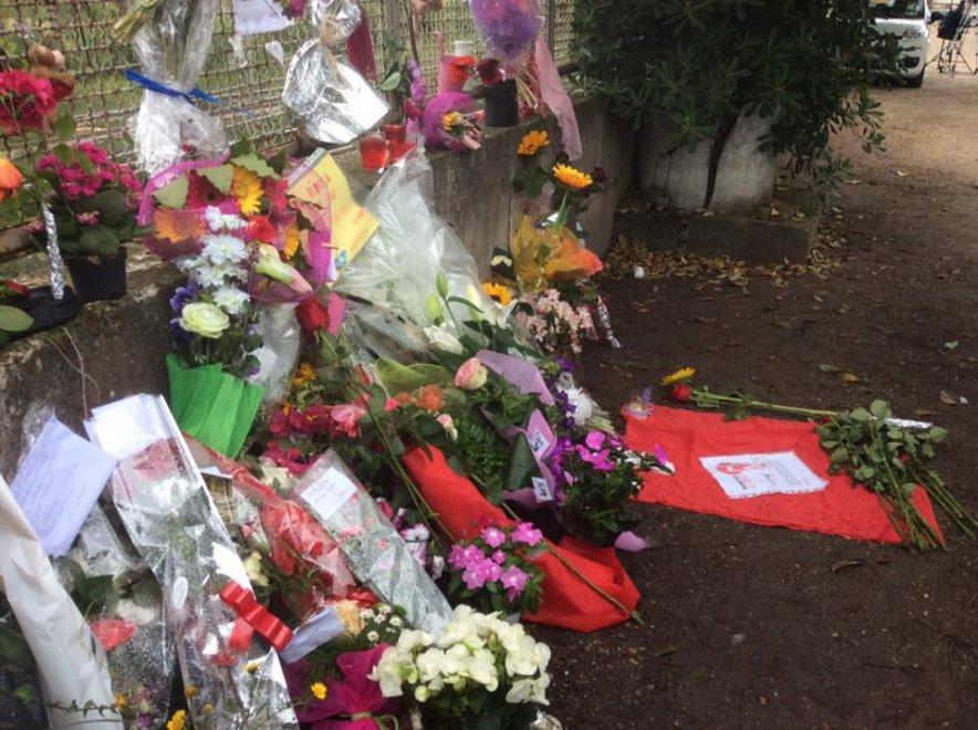 """Roma, omicidio Magliana: sit-in di cittadini e associazioni per dire """"mai più femminicidi"""""""