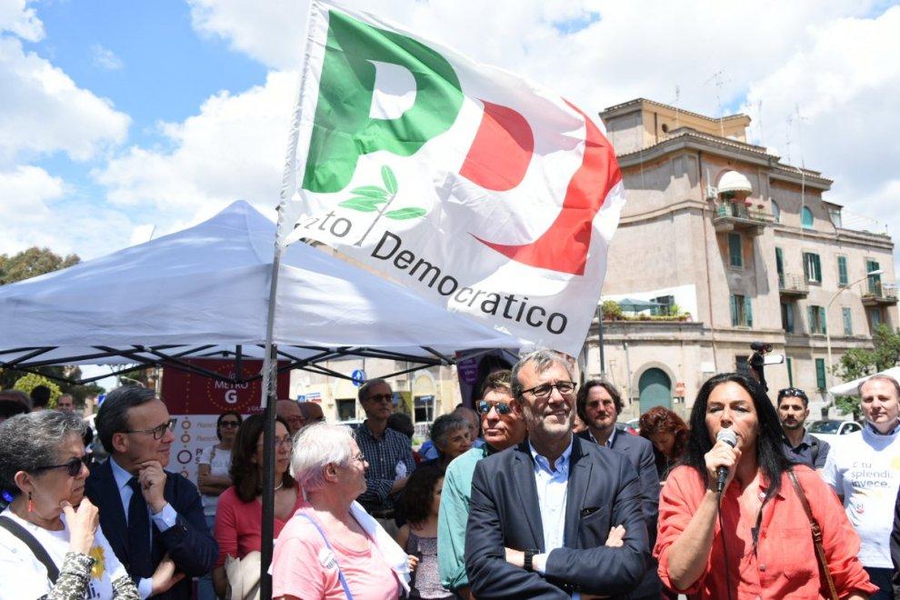 """""""Metro G"""": Giachetti chiude la campagna elettorale con un tour nei municipi"""