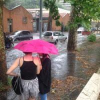 Bomba d'acqua su Roma Nord: allagamenti a Tor di Quinto