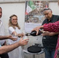 Roma, Monti festeggia il compleanno del