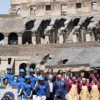 """Restauro Colosseo, Franceschini: """"Bella giornata per Roma e per l'Italia. L'arena..."""
