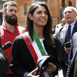 Roma, la sindaca Raggi riceve Cherie Blair