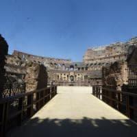 """Roma, al Colosseo ecco terzo ingresso: """"Visitatori come gladiatori"""""""