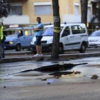 Roma, tubatura rotta: ancora disagi e strade chiuse in zona Gregorio VII