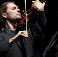 Roma, ovazioni da rockstar per il violinista David Garrett