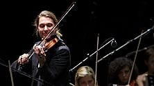 Ovazioni da rockstar per il violinista David Garrett