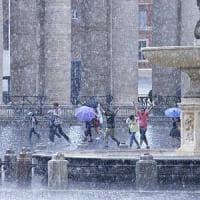 Roma, meteo: lunedì 25 luglio per tutta la giornata temporali, grandinate