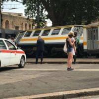 Roma, scontro tra tram e treno a Porta Maggiore. Sei feriti lievi, linee