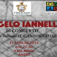 Anzio, domenica 31 luglio il concerto di Angelo Iannelli