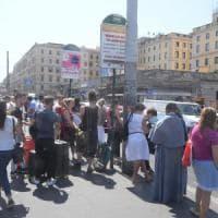 Sciopero trasporti a Roma, chiusa la metro B: bus presi d'assalto. Meleo