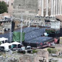 Music for Mercy, ancora polemica per il palco nell'area archeologica dei