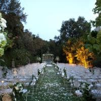 Roma, nel Castello di Tor Crescenza le nozze dei vip