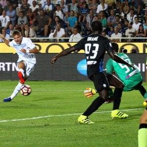 Lazio, subito Immobile gol, ma che sofferenza. Lite legale con Keita
