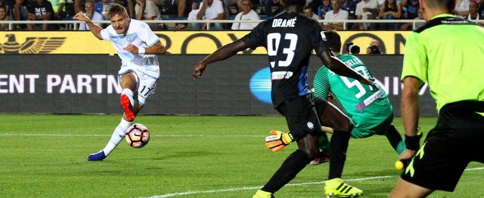 Lazio, subito Immobile gol, ma che sofferenza. Lite legale con ...