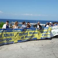 Ventotene, manifestazione dei radicali per gli Stati Uniti d'Europa