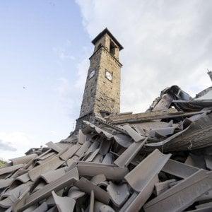 Amatrice spezzata dal terremoto: il dramma nel giorno della festa più importante