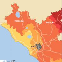 Terremoto, il pericolo dal Reatino al Frusinate: la mappa delle zone a rischio