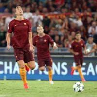 Roma, per Dzeko contro il Cagliari rischio panchina