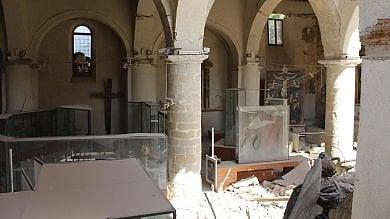 """Amatrice, il museo crollato per il sisma """"Entreremo dall'alto per salvare le opere"""""""