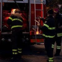 Roma, fiamme B&B vicino alla stazione: tre feriti