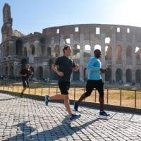 Mark Zuckerberg a Roma: jogging intorno al Colosseo