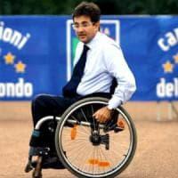 """Luca Pancalli: """"Virginia rifletta: Paralimpiadi, occasione per i disabili"""""""