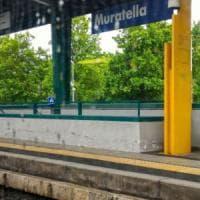 Roma, incendio tra Muratella e Ponte Galeria: treni per Fiumicino fermi