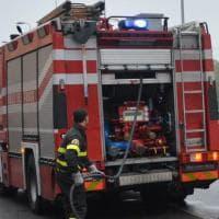 Roma, fiamme nel Parco degli Acquedotti