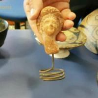 Civitavecchia, reperti etruschi scoperti  in casa di un imprenditore