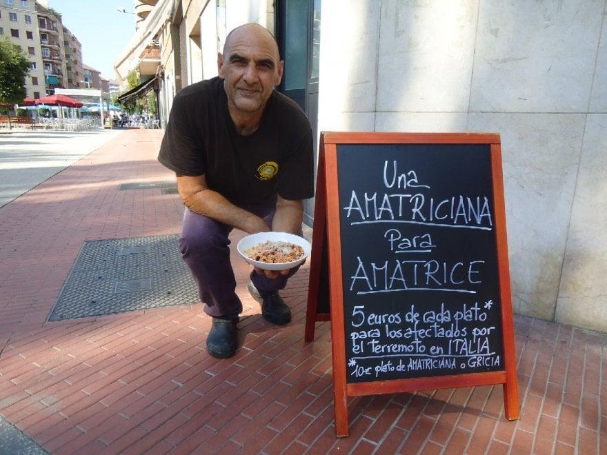 Se l'Amatriciana di solidarietà arriva nei Paesi Baschi