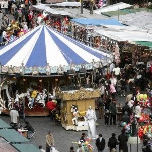 Roma, rinasce il mercato della Befana di piazza Navona
