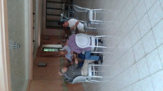 """Roma, a Castelverde anziani pronte alle barricate: """"Non toglieteci il nostro centro"""""""