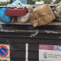 Roma, incuria, rifiuti, erbacce il caos di via Mascagni