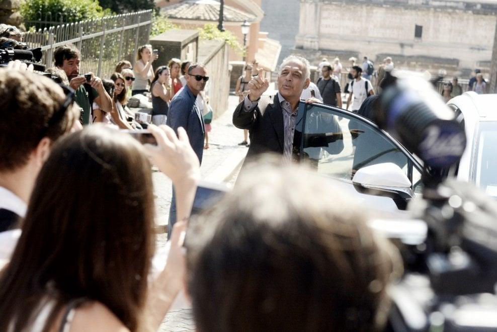 Roma, Pallotta in Campidoglio per incontrare la Raggi