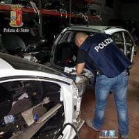 Roma, Borghesiana, sgominata dalla polizia una banda che riciclava auto rubate