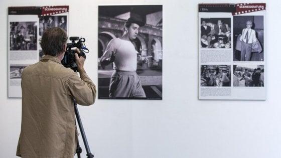 Roma, Scola com'era: al museo Bilotti foto, disegni, ritratti e video
