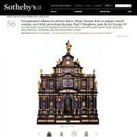 Asta record da Sotheby's per un